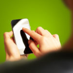 Modernes Android-Smartphone